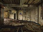 Dave Jordano: Room Detail 13, Chanute AFB, Rantoul, IL