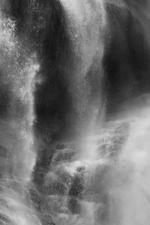 David H. Gibson: Water Cascade, 07 1682, British Columbia, Canada