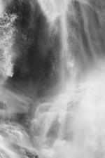 David H. Gibson: Water Cascade, 07 1680, British Columbia, Canada