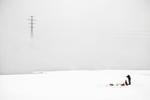 Frank Ward: Ice Fishing, Angara River, Siberia, 2008