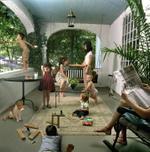 Julie Blackmon: Front Porch, 2005