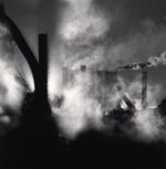 Michael Kenna: The Rouge, Study 100, Dearborn, Michigan, USA. 1995