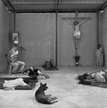Michelle Frankfurter: Hermanos en El Camino migrant shelter, Ixtepec, Oaxaca, 2009