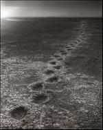 Nick Brandt: Elephant Footprints, Amboseli, 2012
