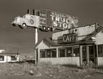 Steve Fitch: Abandoned Truckstop, Highway I-80, Winnemucca, Nevada, 1970