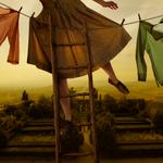Tom Chambers: Pennants Over Pienza, 2011
