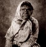 William Coupon: Aboriginal Woman with Scarf, Utopia Station, Australia, 1980